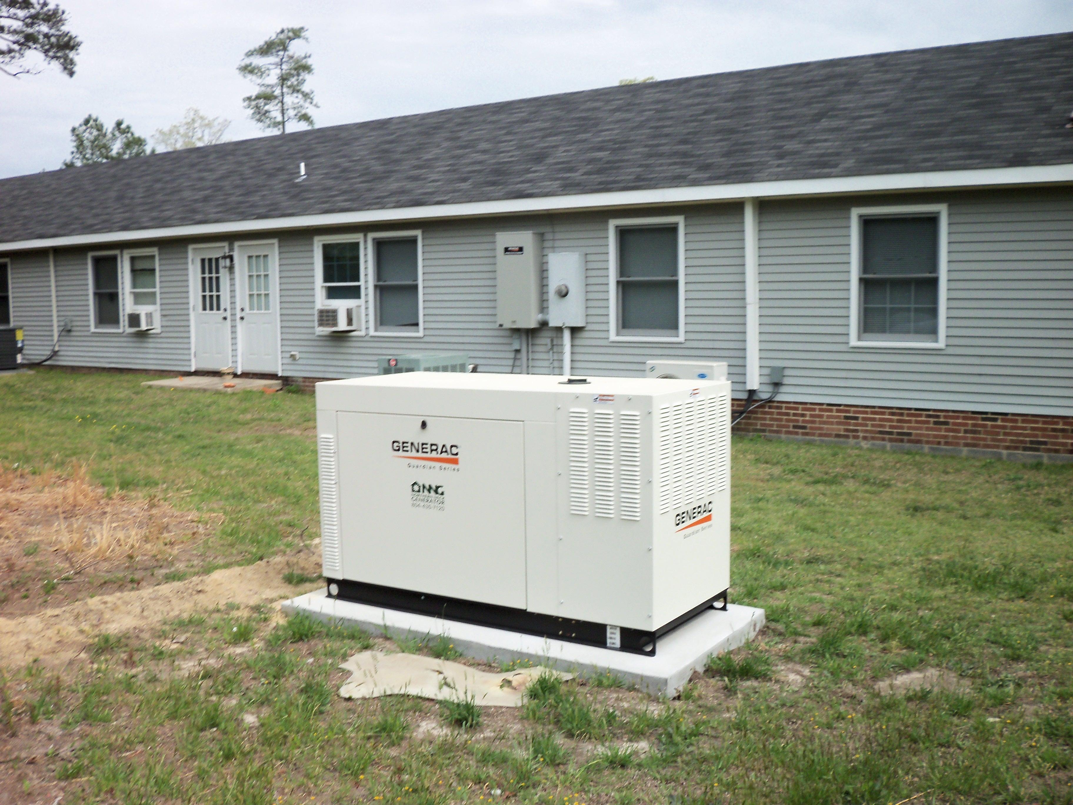 60 kw generac mercial business liquid cooled propane generator