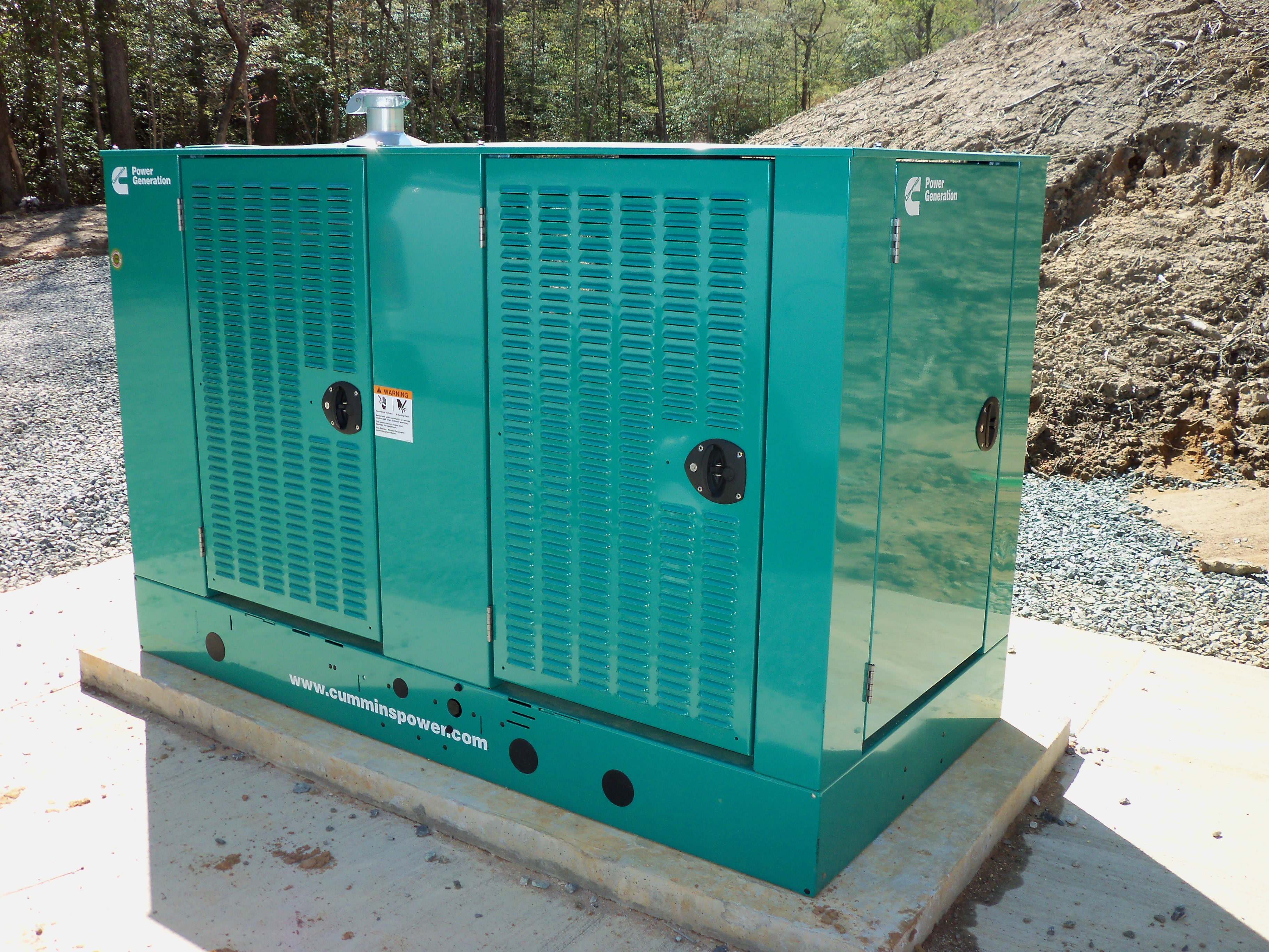 Cummins 80kW generator sold by northern neck generator for