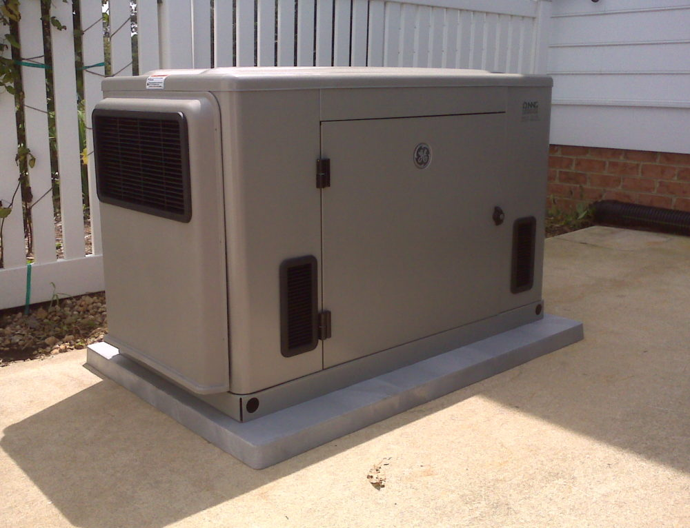 GE 20kw  generator installed by NNG in white stone