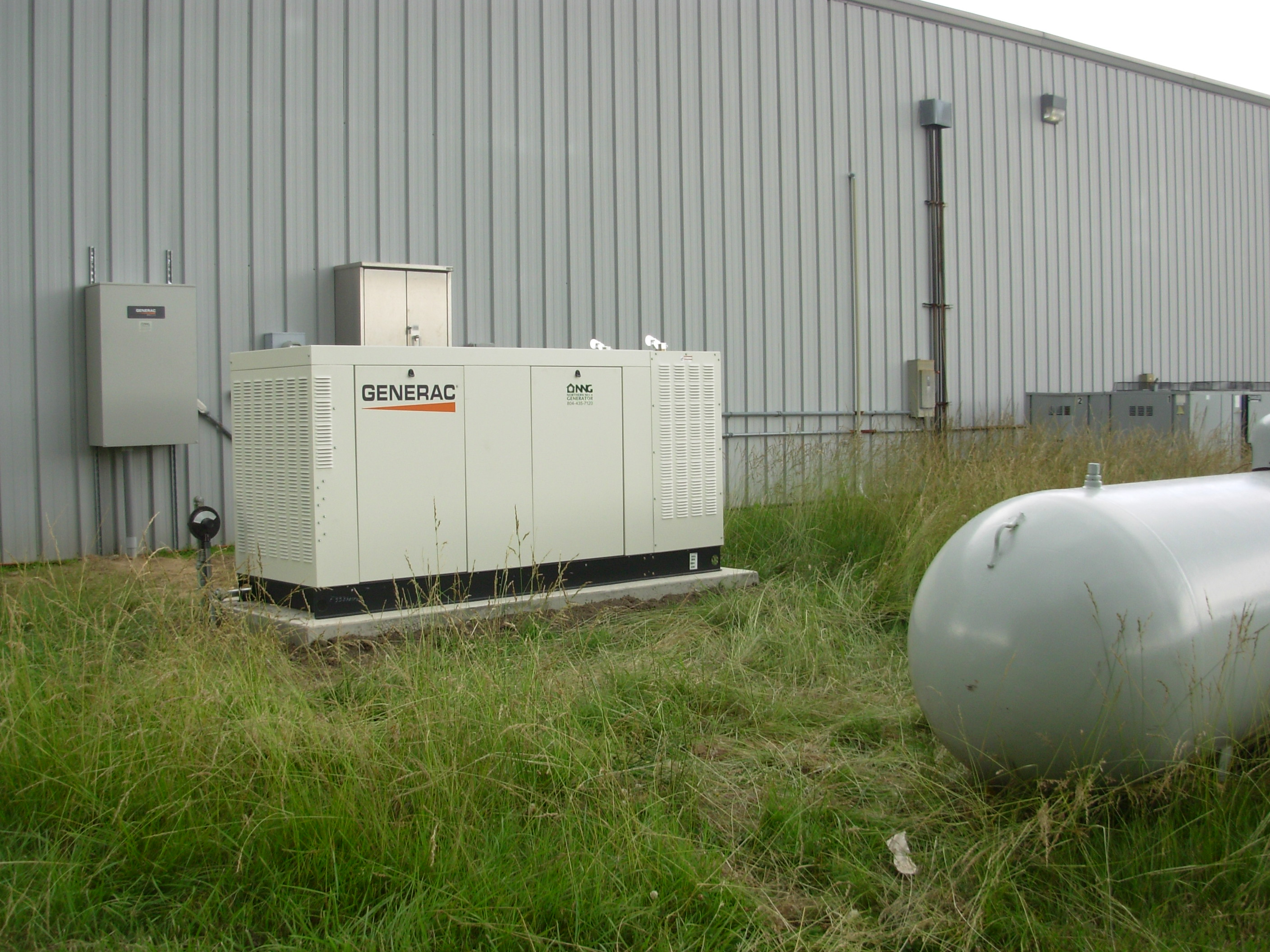 60 kw generac mercial business liquid cooled propane generator