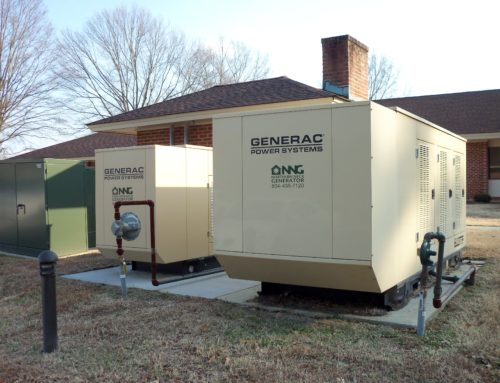 paralleled 150 kw generac industrial generators installed by northern neck generator in irvington