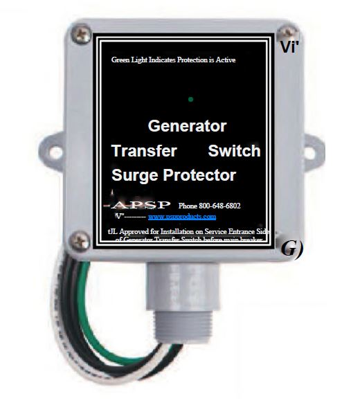 Surge Protection | NNG Automatic Standby Generators